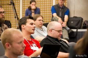 Audiencia de una conferencia