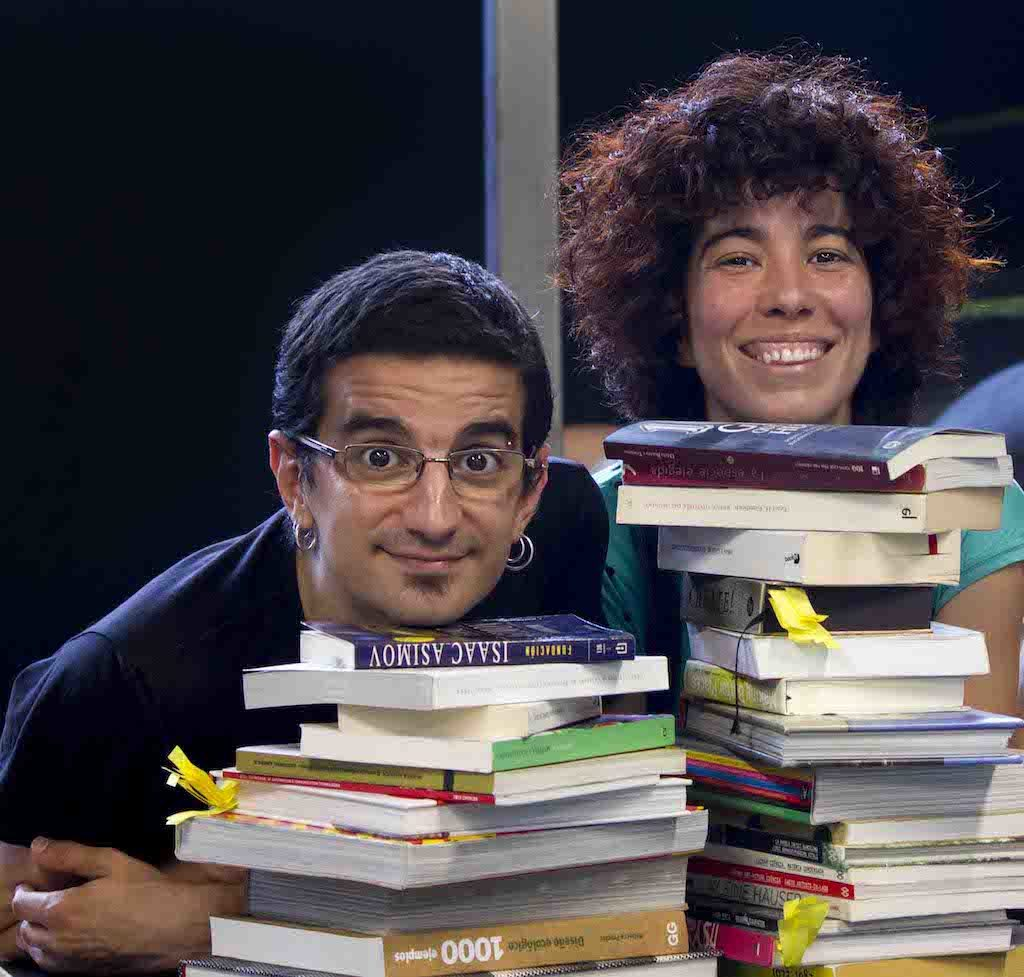 Oriol Borrega y Celia Alba