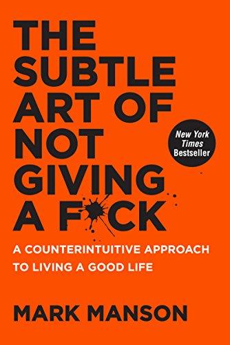 """Portada del libro """"The subtle art of not giving a fuck"""" de Mark Manson"""