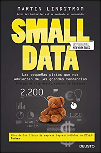 "Libro ""Small Data"" de Martin Lindstrom"