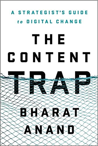 "Libro ""The Content Trap"" de Bharat Anand"