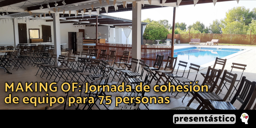 EP 47 MAKING OF: Jornada de cohesión de equipo para 75 personas