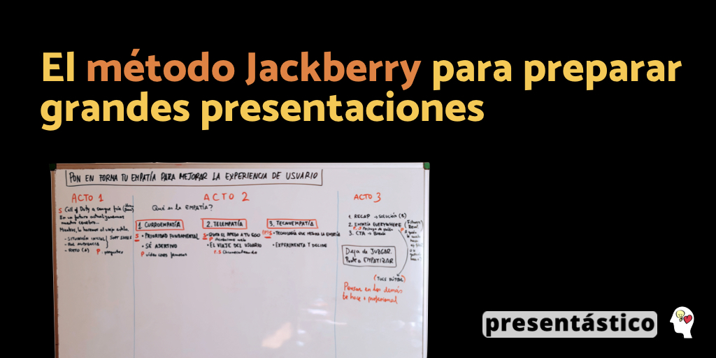 EP 59 El método Jackberry para preparar grandes presentaciones